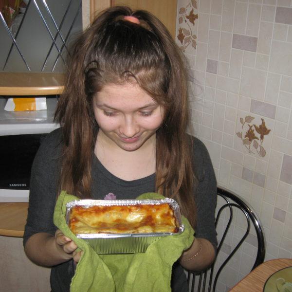 Лазанья от Саши, любительницы нашего соуса из Беларуси